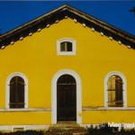 Das Schleusenwärterhaus an der Schleuse 14 bei Dietfurt ist heute Vereinsheim. Aufnahme  am 30. September 2000